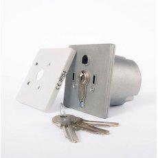 Przełącznik kluczykowy podtynkowy
